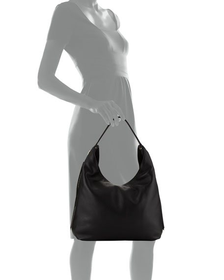 Bryn Leather Hobo Bag