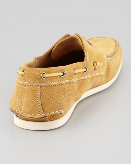 Schooner Perforated Boat Shoe, Scotch