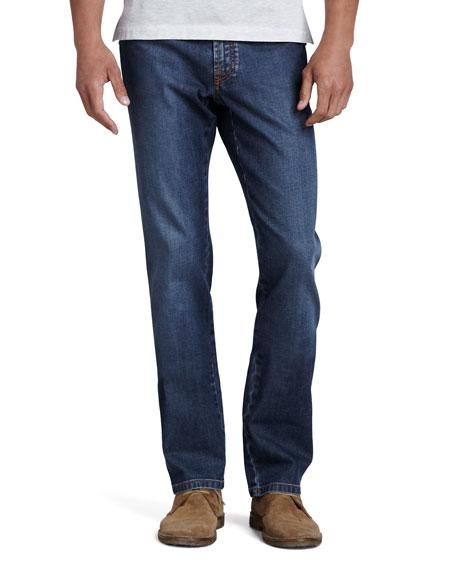 Stelvio Five-Pocket Jeans, Vintage Denim