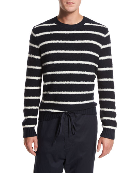 Vince Drop-Rise Pants & Crewneck Sweater
