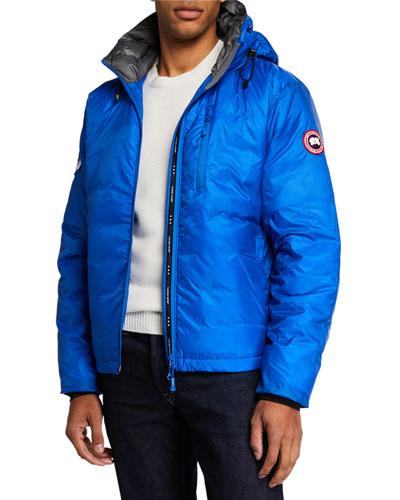 PBI Down-Fill Lodge Hoodie Jacket  Royal Blue