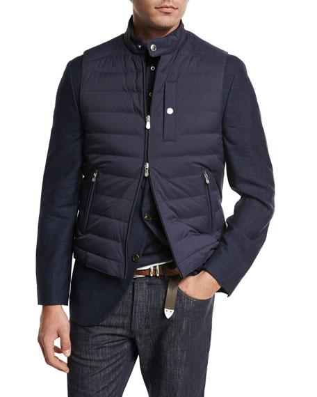 Brunello Cucinelli Gilet, Polo, Jeans, Sport Coat