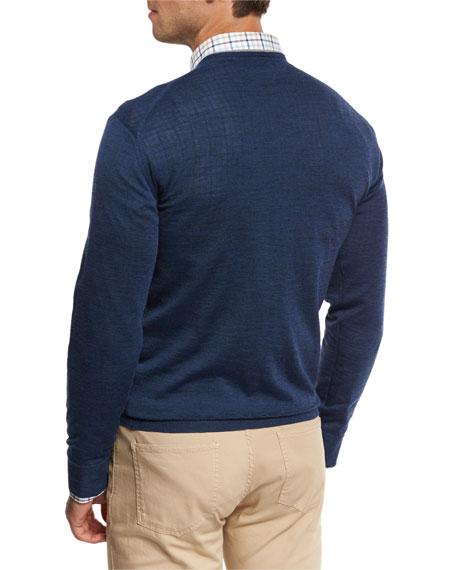 Collection Merino-Silk V-Neck Sweater