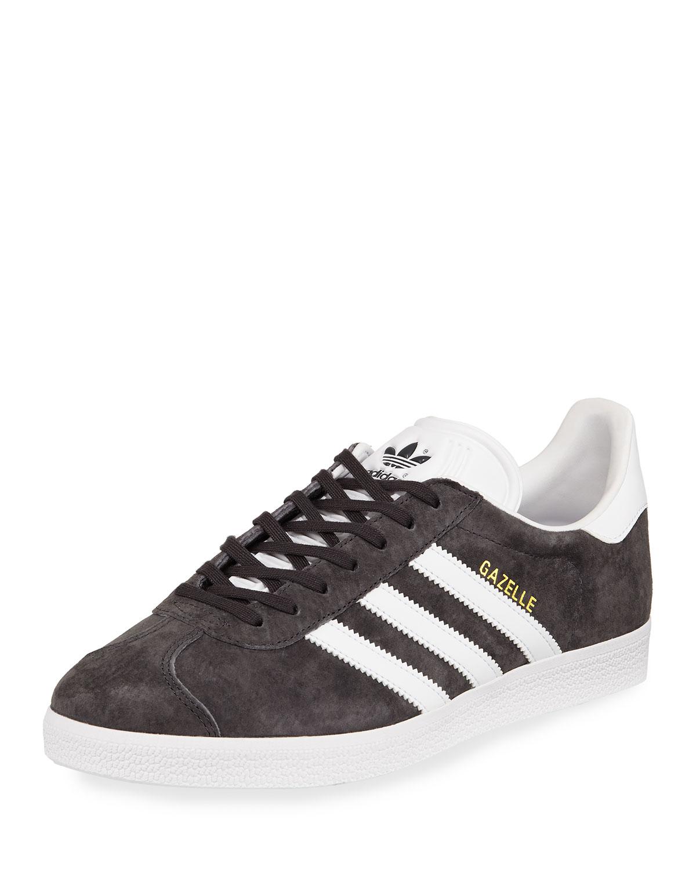 Gazelle Original Suede Sneakers, Gray