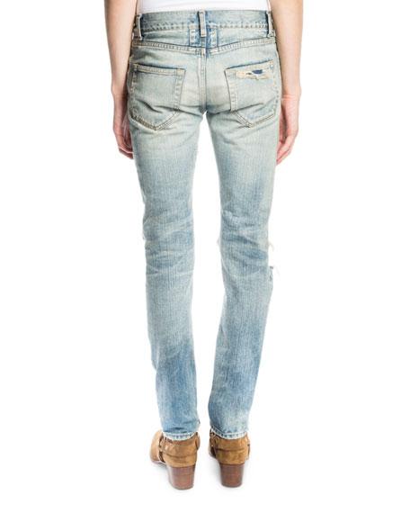 classic faded jeans - Blue Saint Laurent Ak2RLhJP