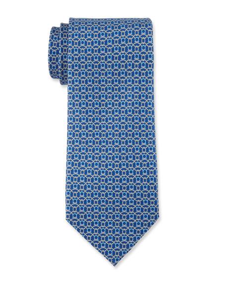 Gancini & Ropes Silk Tie