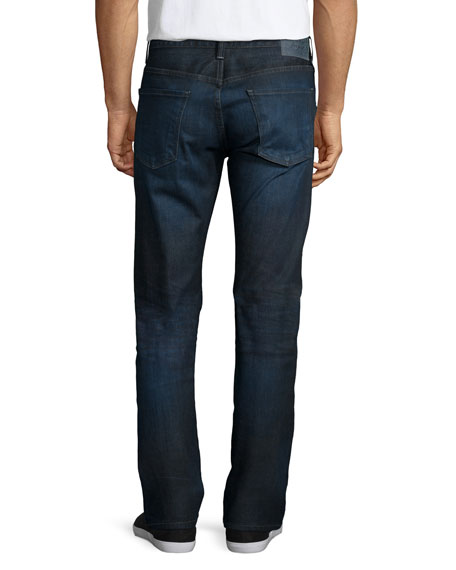 Core Slim-Straight Jeans, Huron Indigo