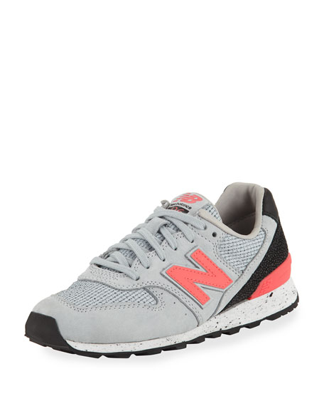 New Balance Embossed Leather Sneaker