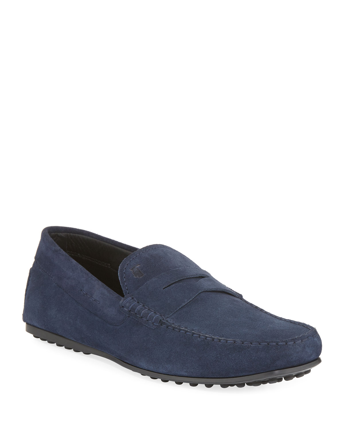 ce9a445d0bde Tod s City Gommini Suede Penny Loafer