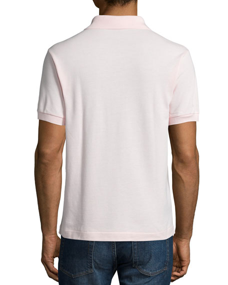 Classic Pique Polo, Light Pink