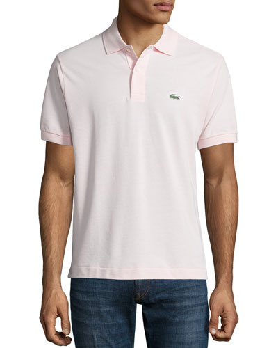 Classic Pique Polo, Light Pink