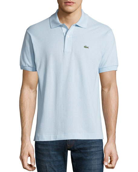 LacosteClassic Pique Polo, Light Blue