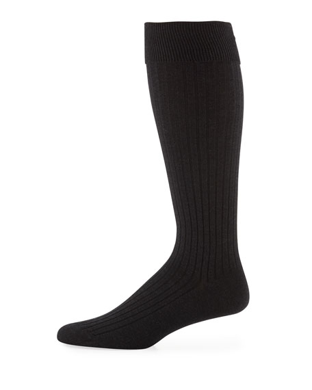 Core-Spun Socks, Over-the-Calf