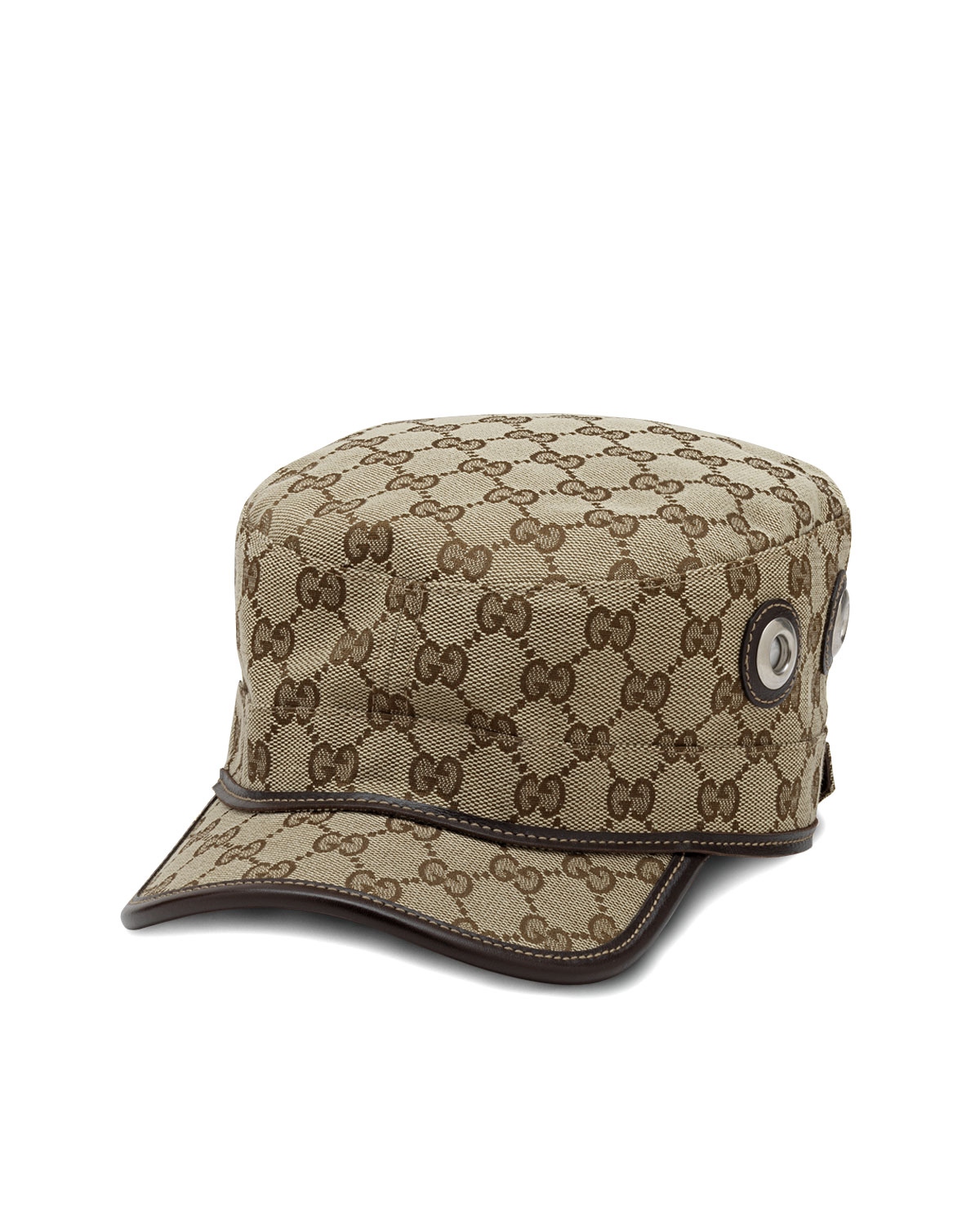 Gucci Canvas Military Hat  614771d54713