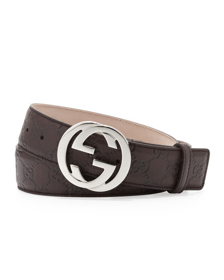 Interlocking G Belt, Black