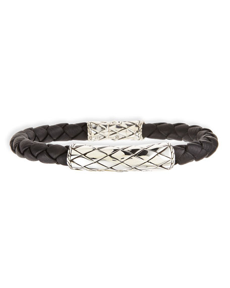 Men's Legends Naga Woven Station Bracelet