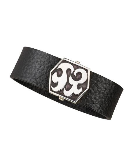 Dayak Leather Bracelet