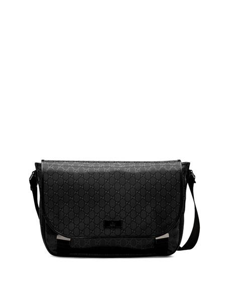 GG Imprime Flap Messenger Bag