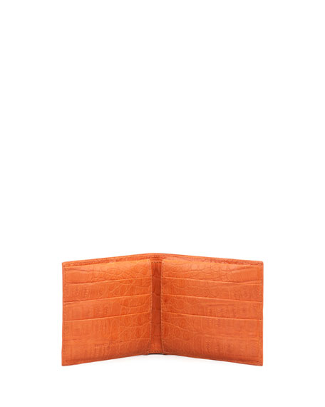 BIFOLD WALLET, ORANGE