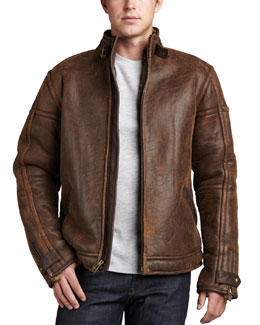 UGG Australia Refugio  Jacket, Chocolate