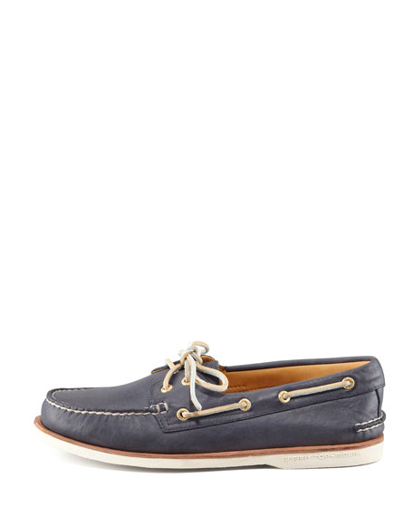 Gold Cup Authentic Original Boat Shoe, Navy