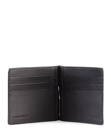 Pebbled Clip Wallet