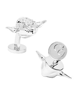 Star Wars Yoda Cuff Links