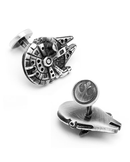Millenium Falcon Cuff Links