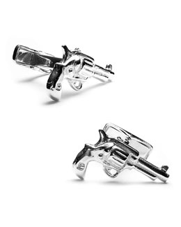 Cufflinks Inc. Sterling Revolver Cuff Links