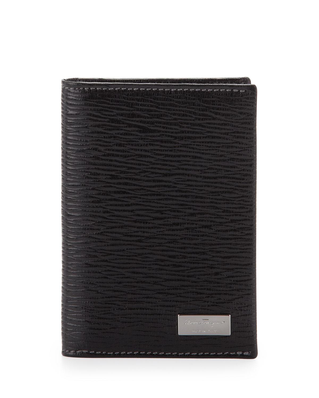 Salvatore Ferragamo Men s Revival Bi-Fold Card Case ad76a1ff56cba