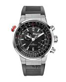 Salvatore Ferragamo F-80 Stainless Steel Chronograph Watch, Black