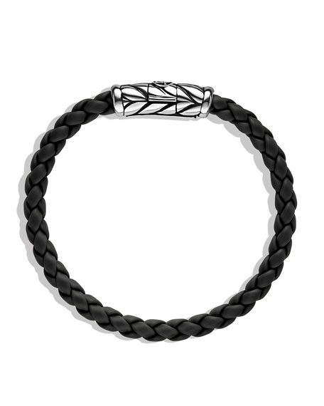 Image 3 of 3: David Yurman Chevron Bracelet in Black