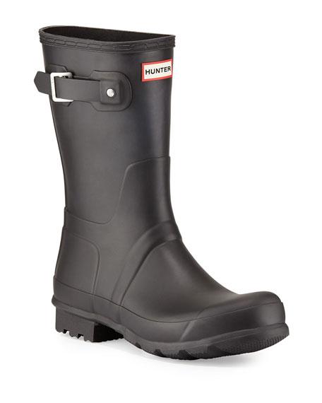 Hunter Boot Original Short Boots, Black