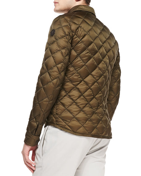 moncler frederic diamond quilted jacket