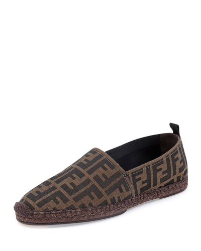 Fendi	 Pablo Espadrille Slip-On, Tobacco
