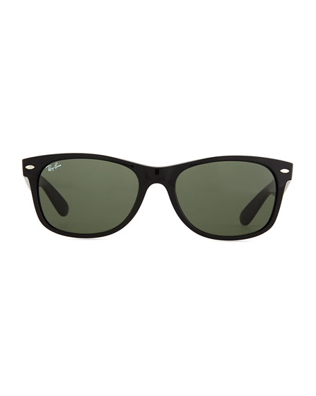 Ray-Ban New Wayfarer Classic Sunglasses, Black