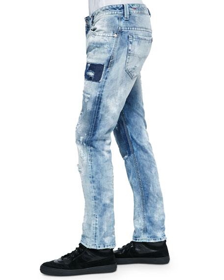 Diesel Thavar 840S DNA Distressed Jeans
