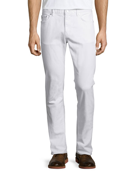 Michael Kors Tailored-Fit Jeans, White