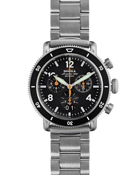 Shinola 42mm Limited Edition Black Blizzard Watch