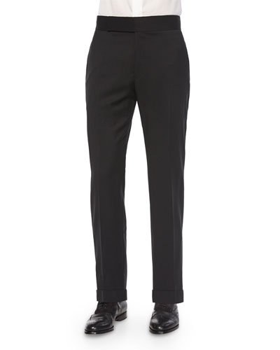G-Line Formal Tuxedo Trousers, Black
