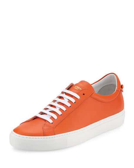 Givenchy Urban Low-Top Street Sneaker, Orange