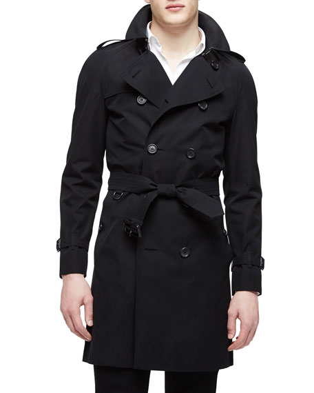 Burberry London The Wiltshire Long Heritage Trench Coat,