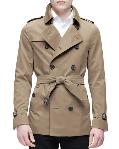 Double-Breasted Trenchcoat, Tan