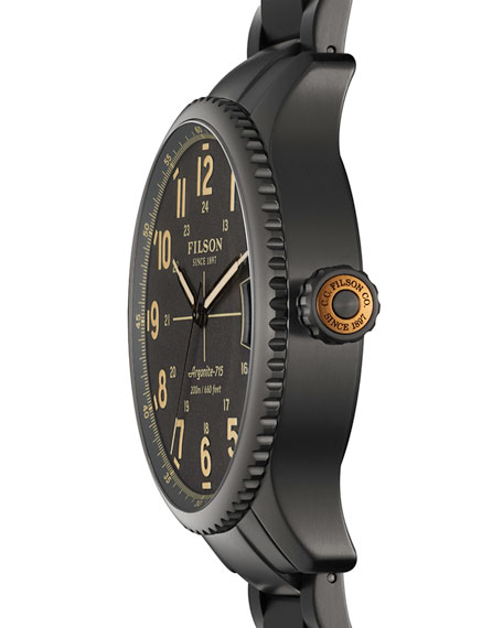 43mm Mackinaw Field Gunmetal Coated Watch