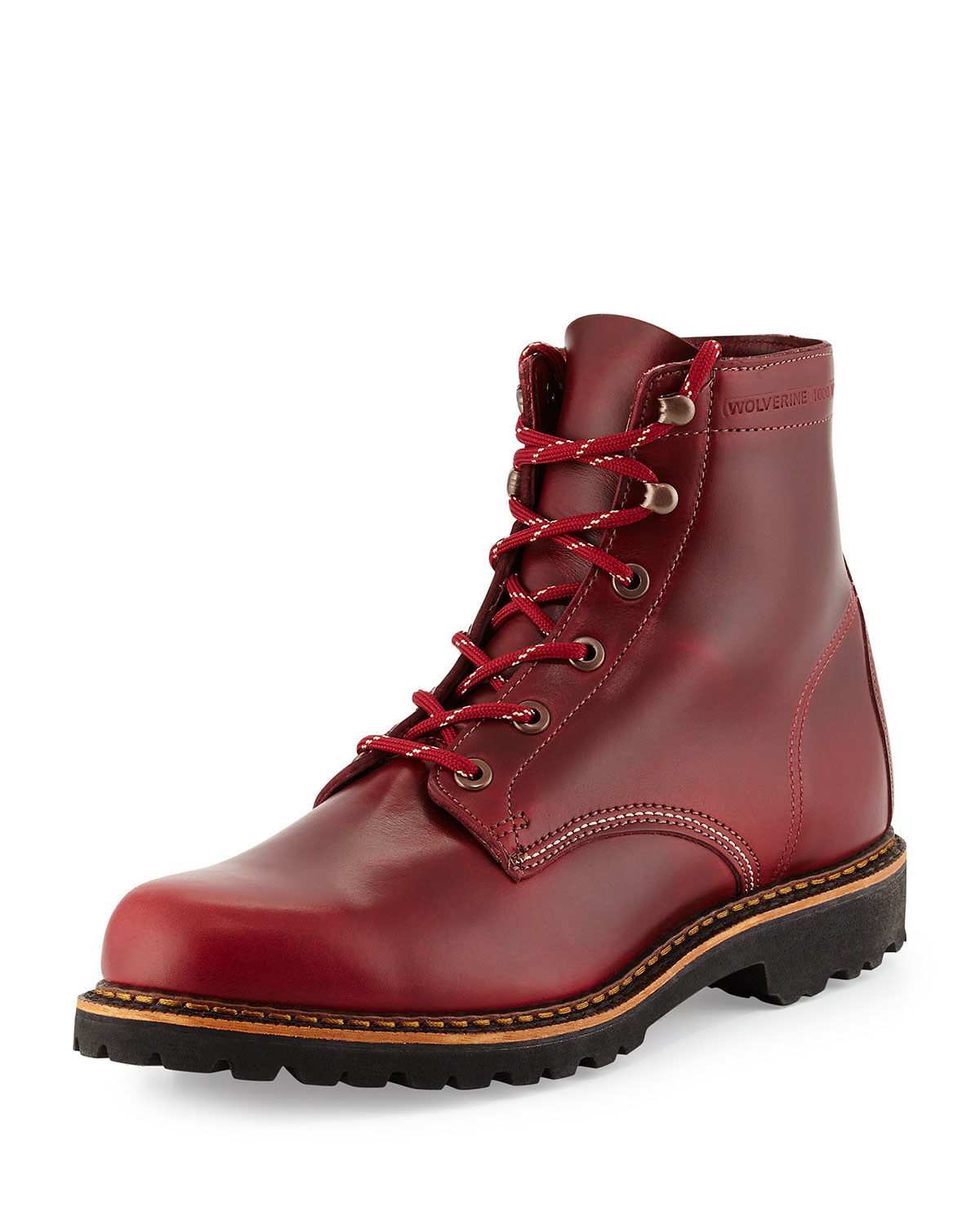 1e8d6f3fc16 Duvall 1000 Mile Boots, Dark Red