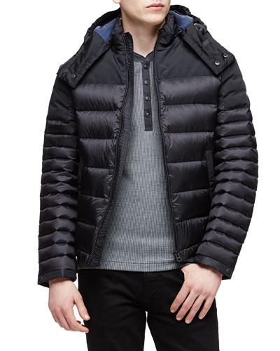 Farrier Lightweight Down Jacket, Black