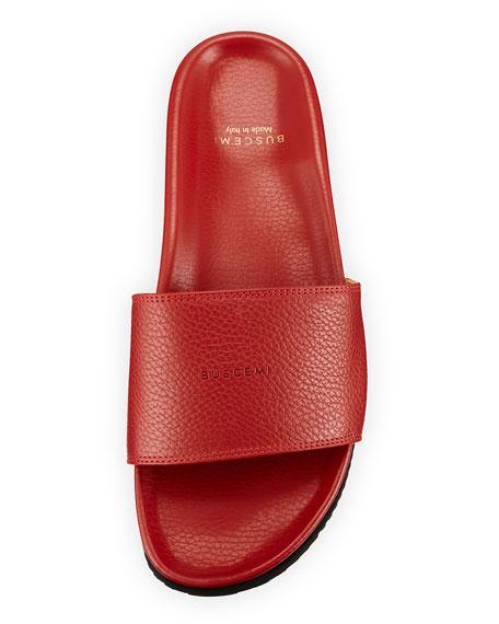 Leather Slide Sandal