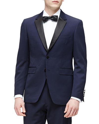 Wool Tuxedo, Navy