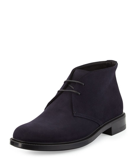 Suede Chukka Boot, Blue