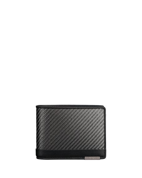 Tumi CFX Double Bi-Fold Global Wallet, Carbon